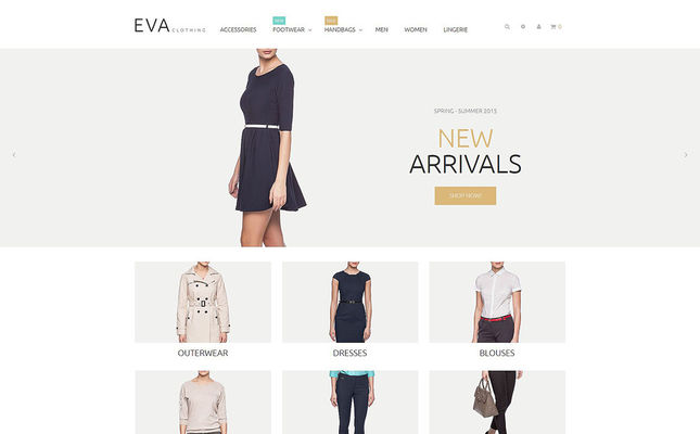 29 of the Best Magento Themes for Mens & Womens Clothing