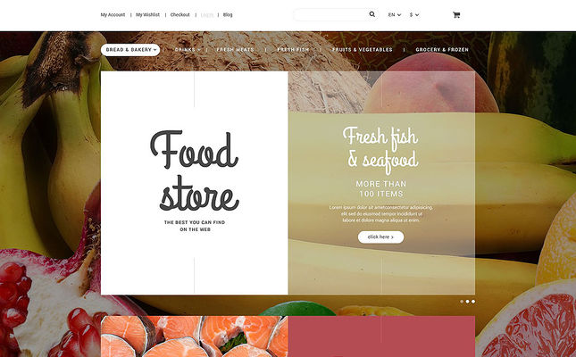 12 of the Best Magento Themes for Selling Food & Spices