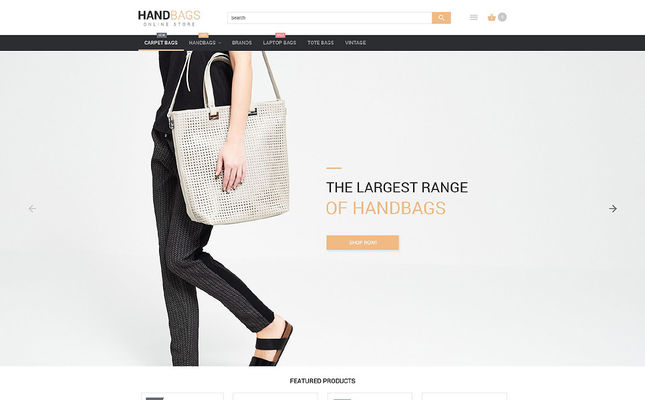 5 of the Best Magento Themes for Selling Handbags & Purses