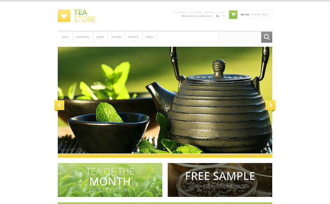 8 of the Best Magento Themes for Coffee & Tea Stores