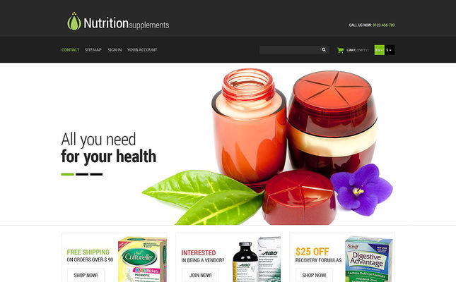 24 of the Best PrestaShop Themes for Medical & Health Stores