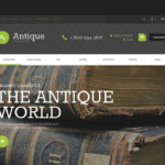 best opencart themes antique stores feature