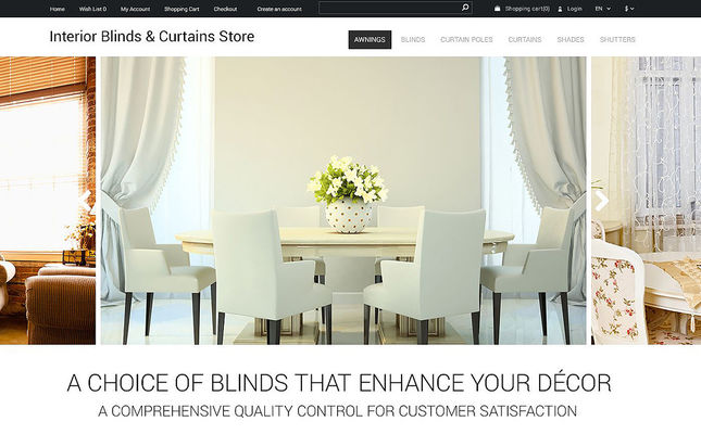 6 of the Best OpenCart Themes for Home Decor & Interior Design Stores
