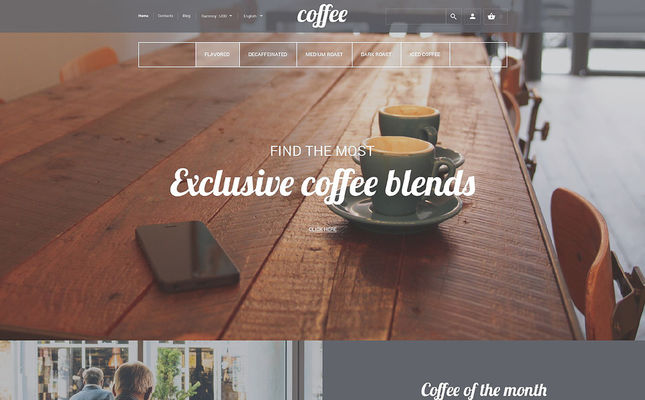 12 of the Best PrestaShop Themes for Selling Tea & Coffee