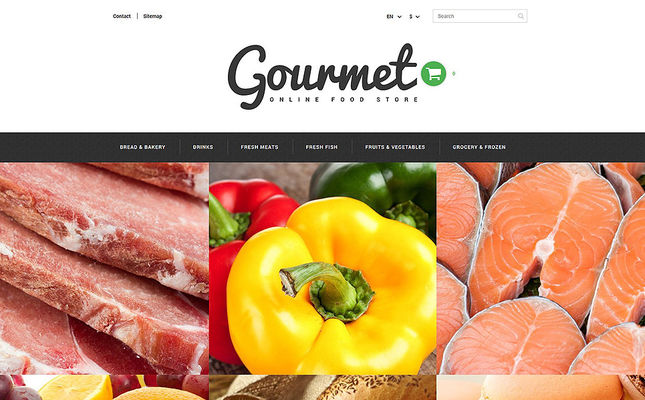 27 of the Best PrestaShop Themes for Food Stores