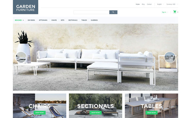 28 of the Best PrestaShop Themes for Furniture Stores