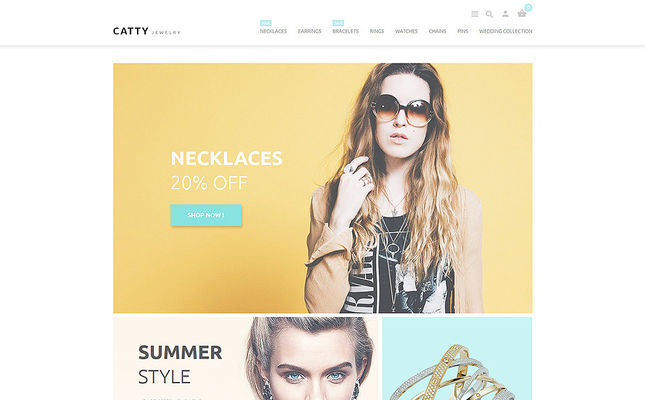 12 of the Best PrestaShop Themes for Jewelry Stores