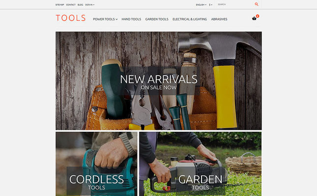 11 of the Best PrestaShop Themes for Selling Tools