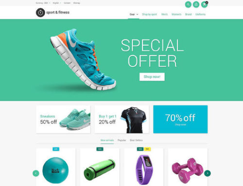 29 of the Best PrestaShop Themes for Sports Stores