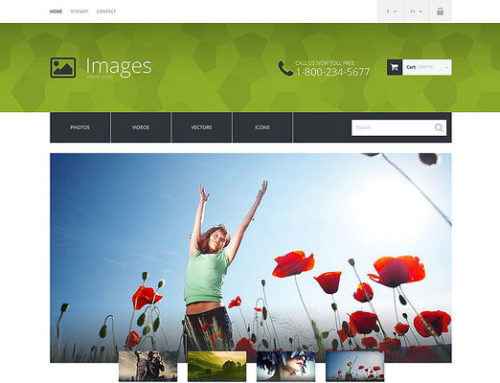 9 of the Best PrestaShop Themes for Stock Videos & Images