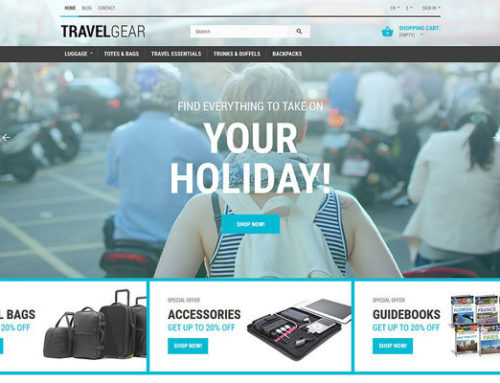 11 of the Best PrestaShop Themes for Travel & Tourism Companies