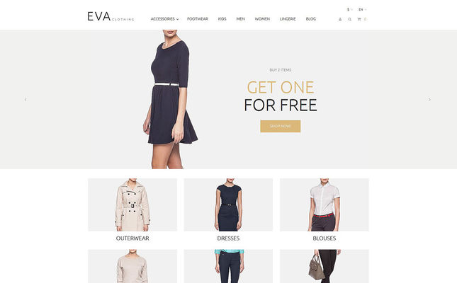 23 of the Best PrestaShop Themes for Womens Clothing