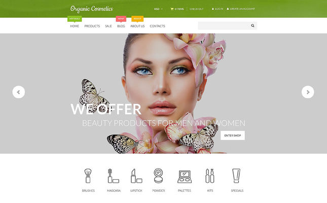 8 of the Best Shopify Themes for Cosmetics & Beauty Products