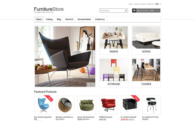 9 of the Best Shopify Themes for Furniture Stores