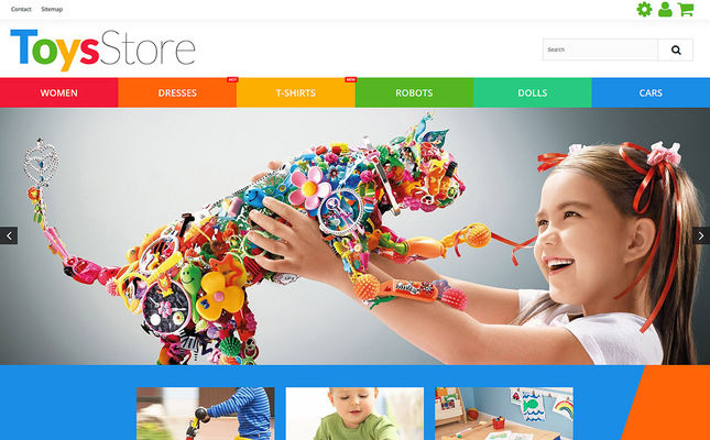 9 of the Best PrestaShop Themes for Toy Stores