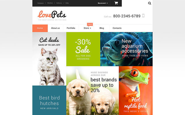 6 of the Best WooCommerce Themes for Animals & Pets
