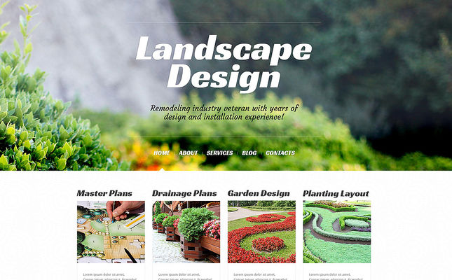14 of the Best WordPress Themes for Landscapers & Gardeners