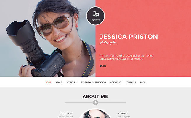 25 of the Best WordPress Themes for Photographers
