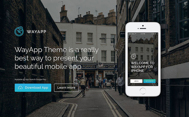 7 of the Best WordPress Themes for Promoting Apps