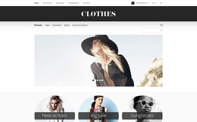 32 of the Best OpenCart Themes for Clothing Stores
