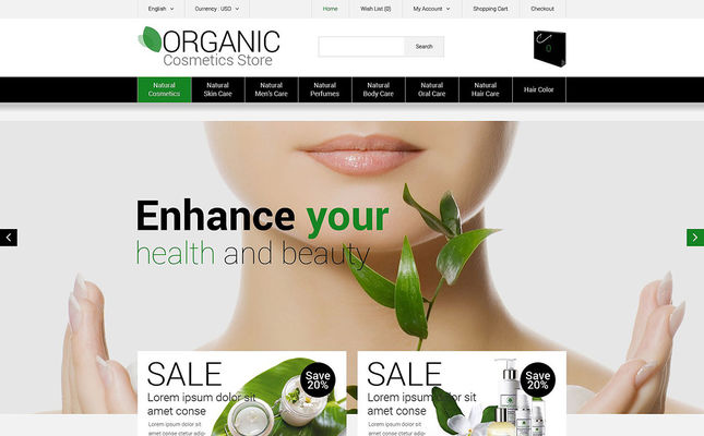 15 of the Best OpenCart Themes for Selling Cosmetics, Hair Products, & Perfume