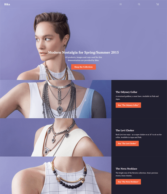 65 of the Best Parallax Shopify Themes