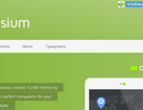 30 of the Best Flat Tumblr Themes