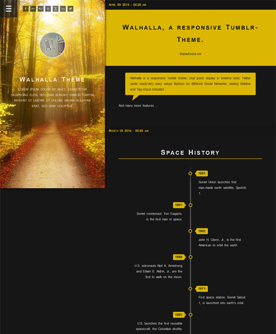 walhalla dark tumblr theme