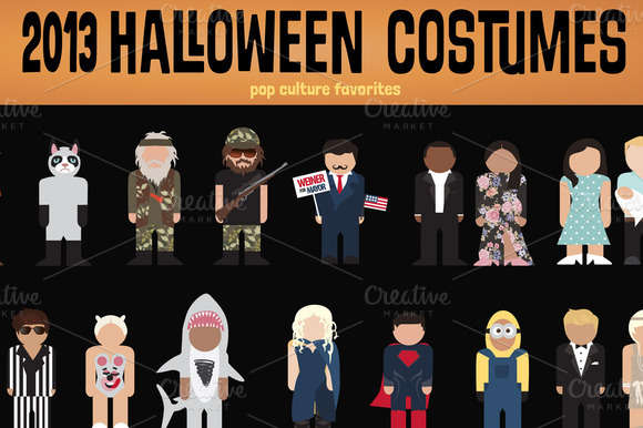 2013 Halloween Pop Culture Costumes