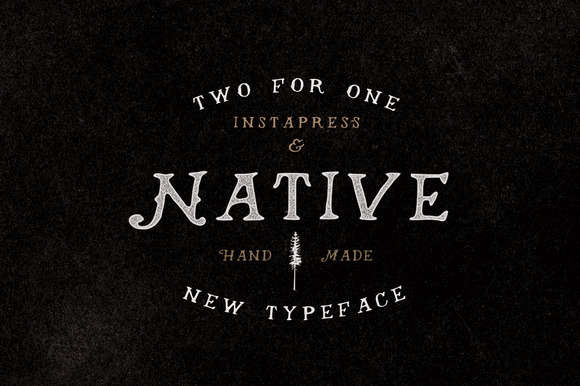 40% Off Native + Instapress