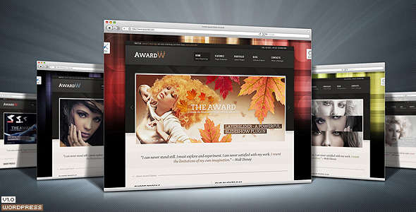 Award Premium WordPress Theme 21 in 1