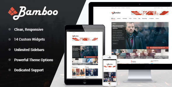Bamboo - Responsive WordPress Magazine Theme