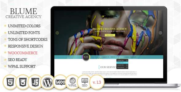 Blume Responsive WordPress Theme