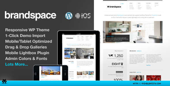 Brandspace Responsive Portfolio & Business Theme
