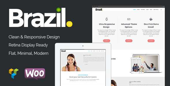 Brazil - WordPress Theme