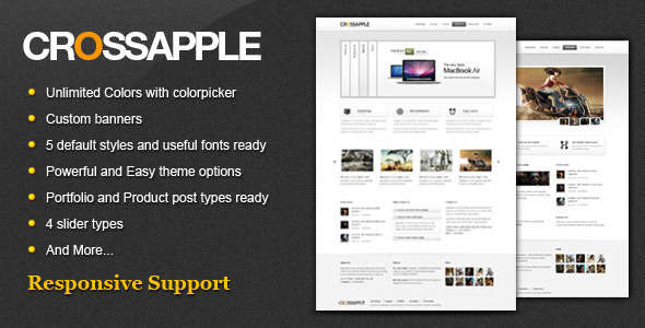 Cross Apple - Clean Business WordPress Theme