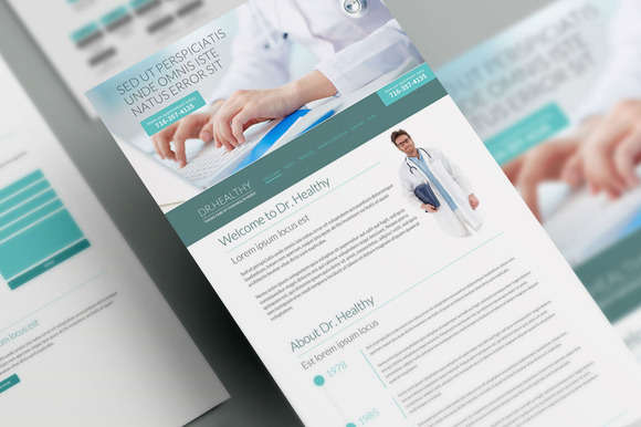 Dr. Healthy Medical WordPress Theme