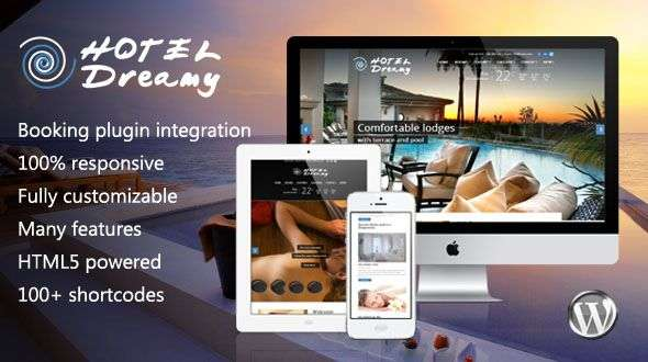 Dreamy - Responsive WordPress Hotel Theme