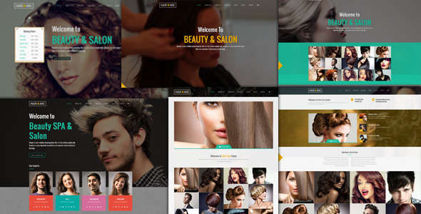 Hair Care - Creative Multi-Purpose WordPress Theme