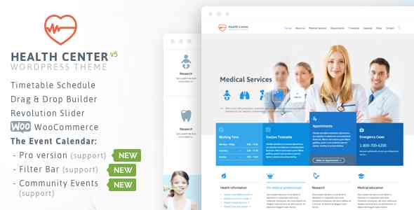 Health Medical Center - Responsive Theme