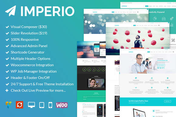 Imperio - Multipurpose Responsive WP
