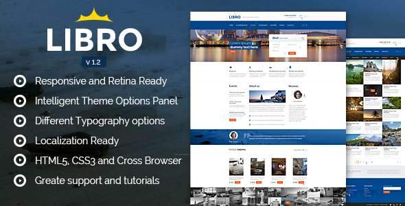 Libro Responsive WordPress Theme
