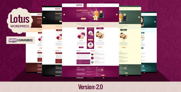 Lotus - Spa Wellness & Beauty Saloon WP Theme