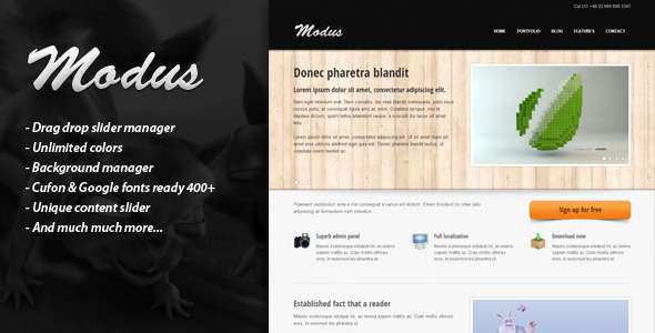 MODUS - Premium WordPress Theme