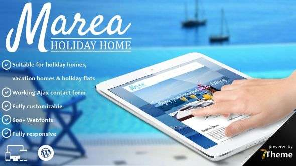 Marea - Holiday & Travel WordPress Theme