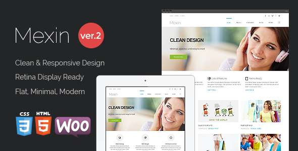 Mexin - Premium Multipurpose Responsive Theme