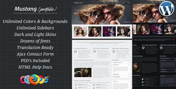 Mustang - Business & Portfolio Theme