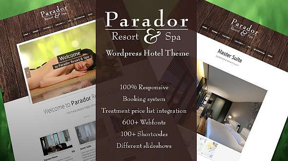 Parador - Premium WordPress Hotel Theme