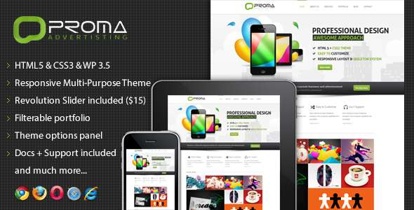 Proma - Responsive Multi-Purpose Theme