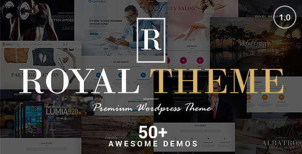 Royal - Multi-Purpose WordPress Theme